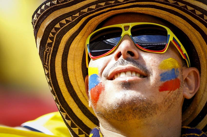 (3)BRASIL-BRASILIA-MUNDIAL 2014-COLOMBIA VS COTE D IVOIRE