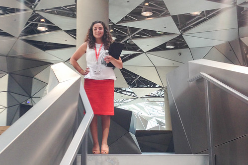 PGE student Alex Gil spent her summer in Paris while participating in the Total Summer Program.