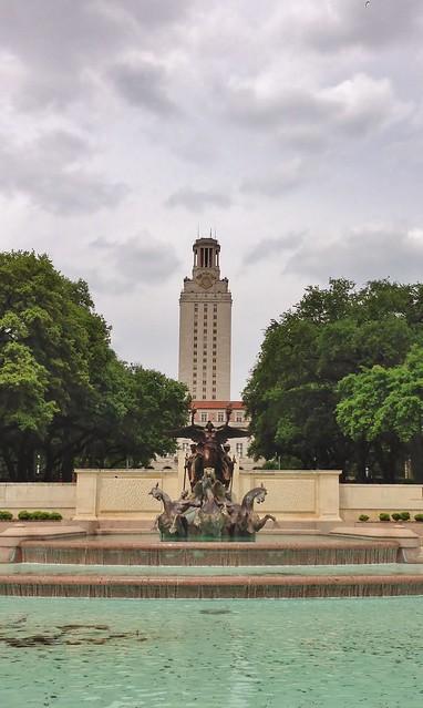 Header of University of Texas at Austin