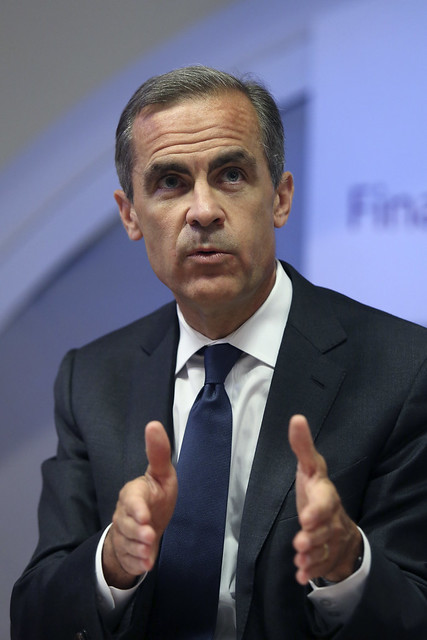 Mark Carney speaking at the Financial Stability Report Press Conference