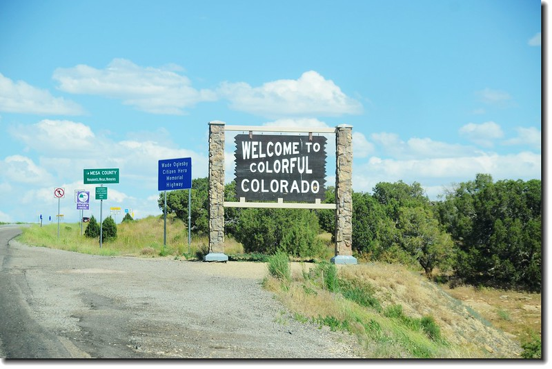 Utah &  Colorado State Line (I-70)
