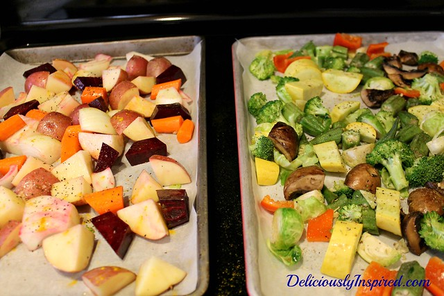Roasted Vegetables - dual