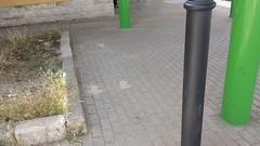 Panchina della Stazione, rimossa