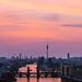 Berlin - Skyline Mediaspree bei Sonnenuntergang by 030mm-photography
