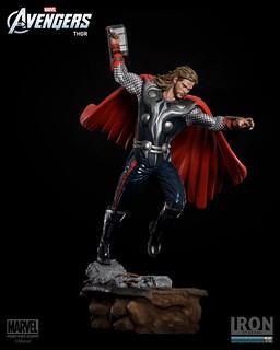 復仇者聯盟戰鬥場景雕像雷神降臨!