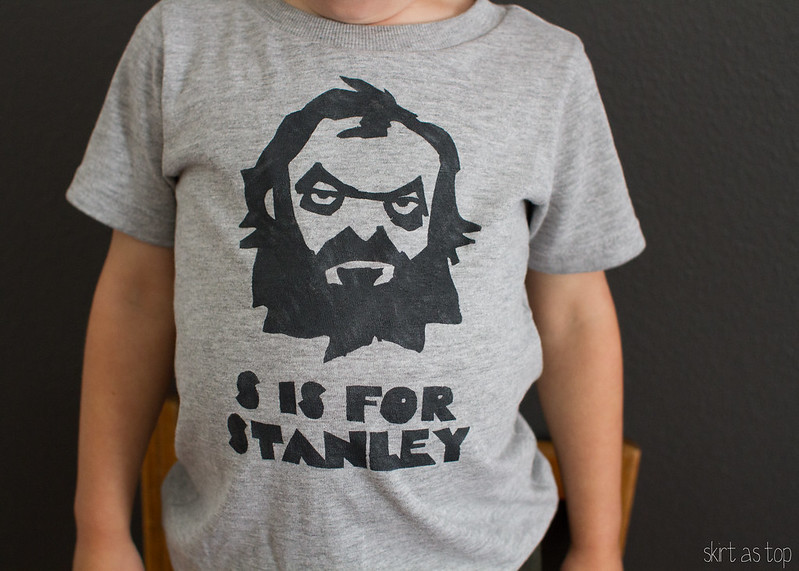 s is for stanley tee