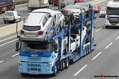 Volvo FM 6x2 Car Transporter - CM51 ECM - ECM - M1 J10 Luton - Steven Gray - IMG_0583