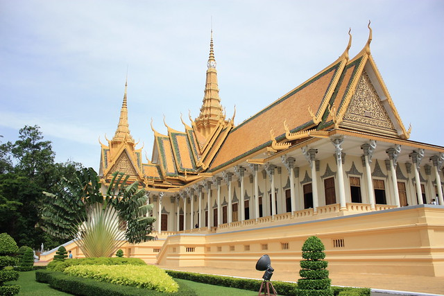 The Royal Palace, Phnom Penh, Cambodia - photo copyright The Everywhereist