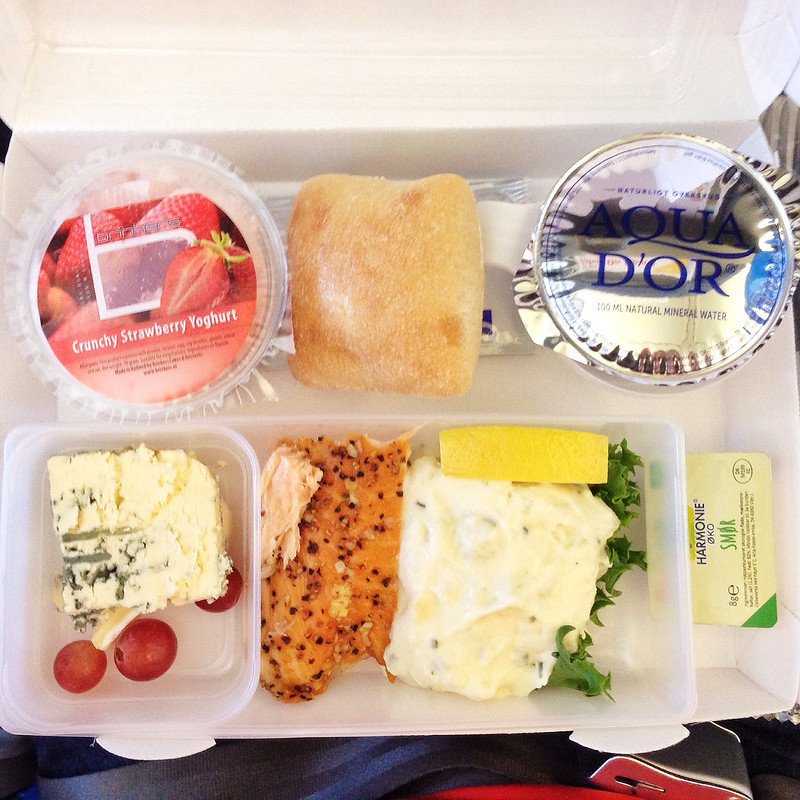 what airplane food should be