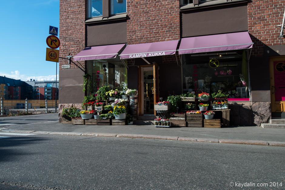 улочки хельсинки