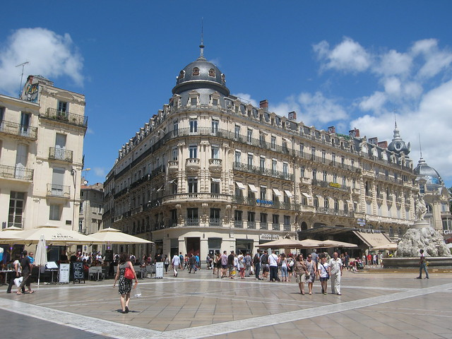 place de la com die montpellier flickr photo sharing. Black Bedroom Furniture Sets. Home Design Ideas