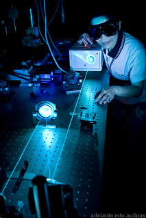 088 Blue laser lab