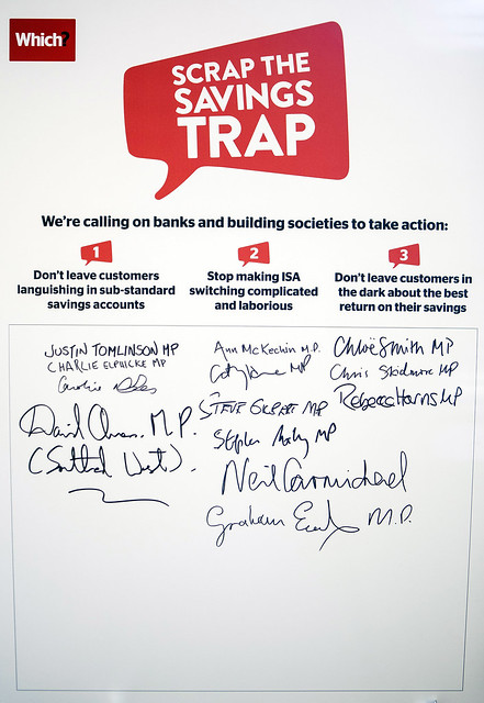 The #SavingsTrap MP petition
