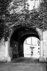 Bicycle in the Archway - SO, Switzerland