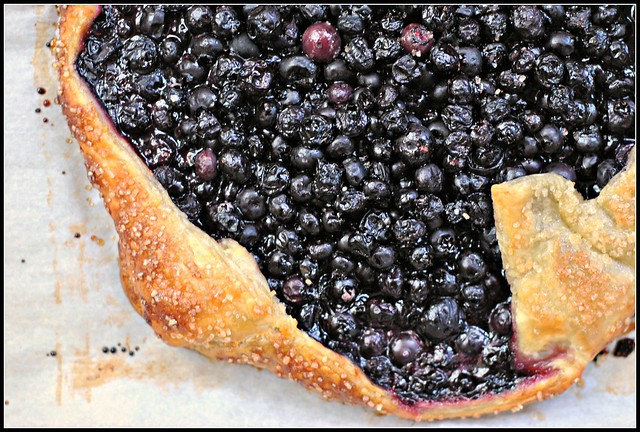 Easy Blueberry Crostata 2