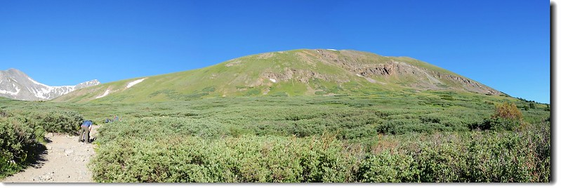 Kelso Mt. (13164 ft, 4012 m) as viewed from the Grays Peak Trail 1