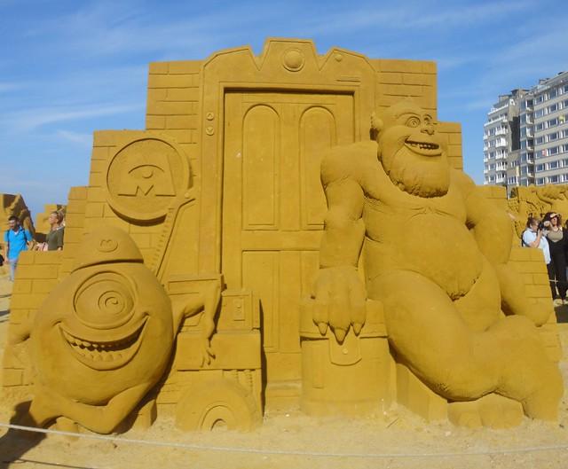 Sculpures sur sable Disney - News Touquet p.1 ! 14770383747_c0beaecbca_z