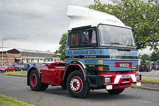 D483NDS Iveco 4 x 2 - Malcolm Group Heritage Vehicle