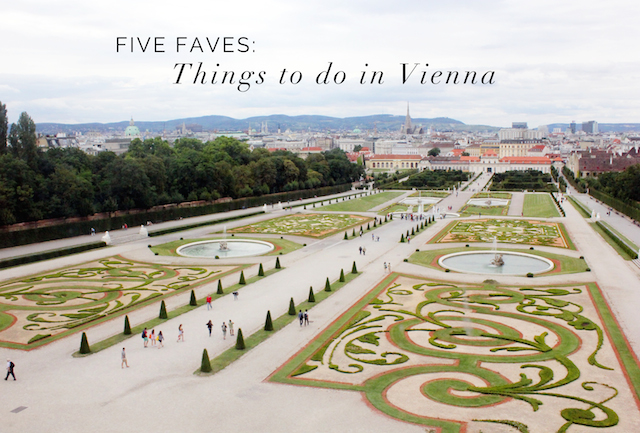 5 fave things to do in Vienna