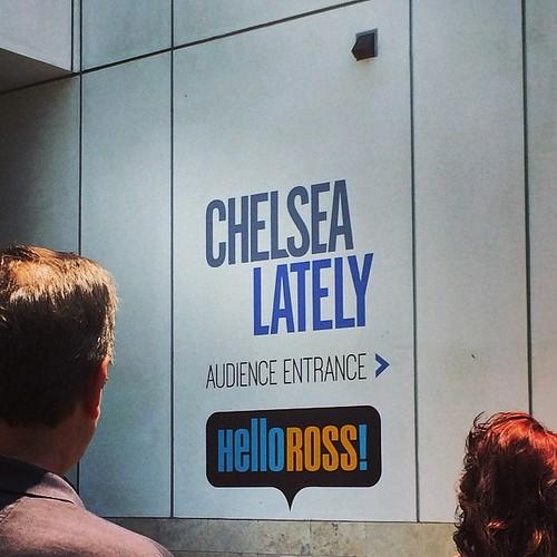 Chelsea Lately taping! #losangeles #kategoestocalifornia