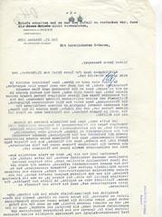 082. Habsburg Ottó levele Bakách-Bessenyey Györgynek az emigráció és a magyarországi eseményekről