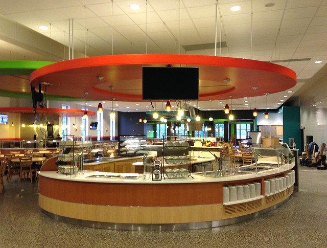 Johnson Dining Hall renovation