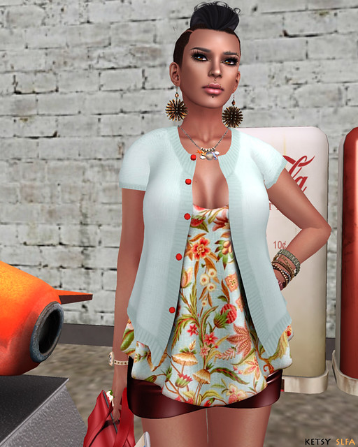 Lizzy In August (New Post @ Second Life Fashion Addict)