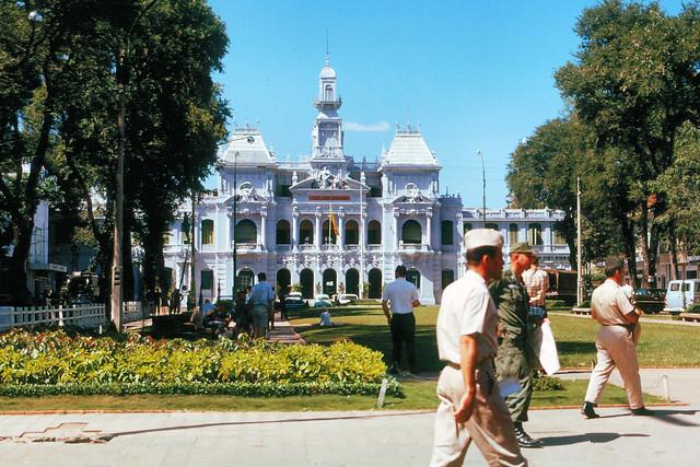 SAIGON 1965 - Tòa Đô Chánh