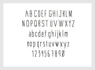 A New Free Font