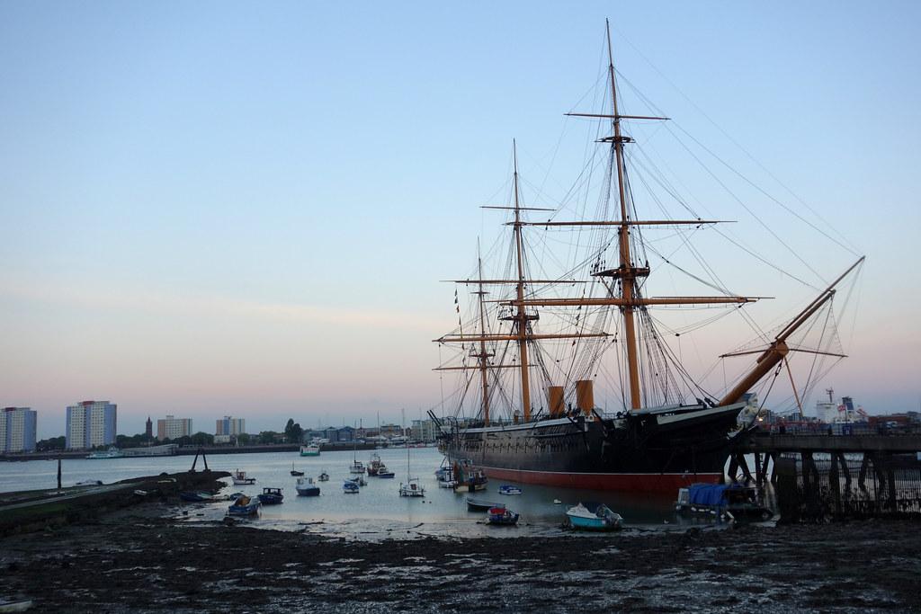 portsmouth_DSC03531 HMS Warrior