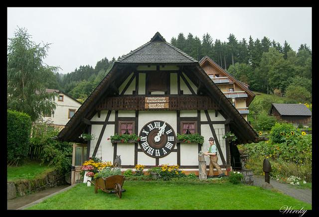 El reloj de cuco de Schonach