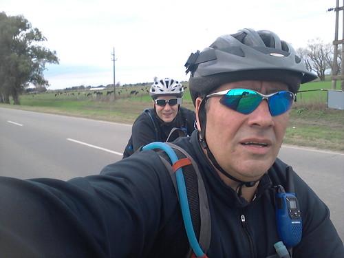 Ciclismo - 95km - Salida a S.Carlos Sud/Centro/Norte, S.Jeronimo del Sauce/Norte, Las Tunas, Franck