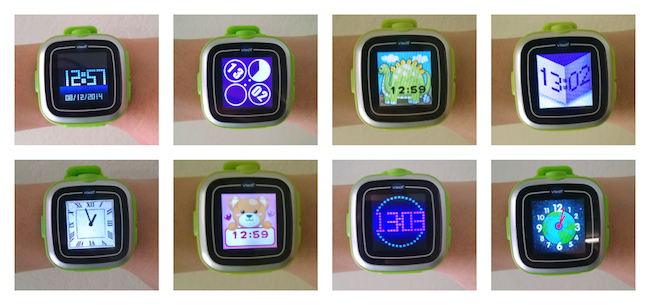 VTech Kidizoom Watch Faces