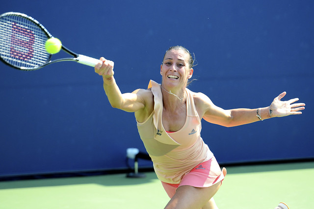 2014 US Open (Tennis) - Tournament - Flavia Pennetta