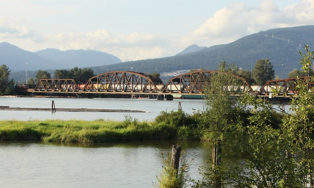 Pitt River RR Bridge