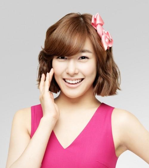 Các kiểu tóc ngắn đẹp! Tóc ngắn ép, uốn xoăn Hàn Quốc 13