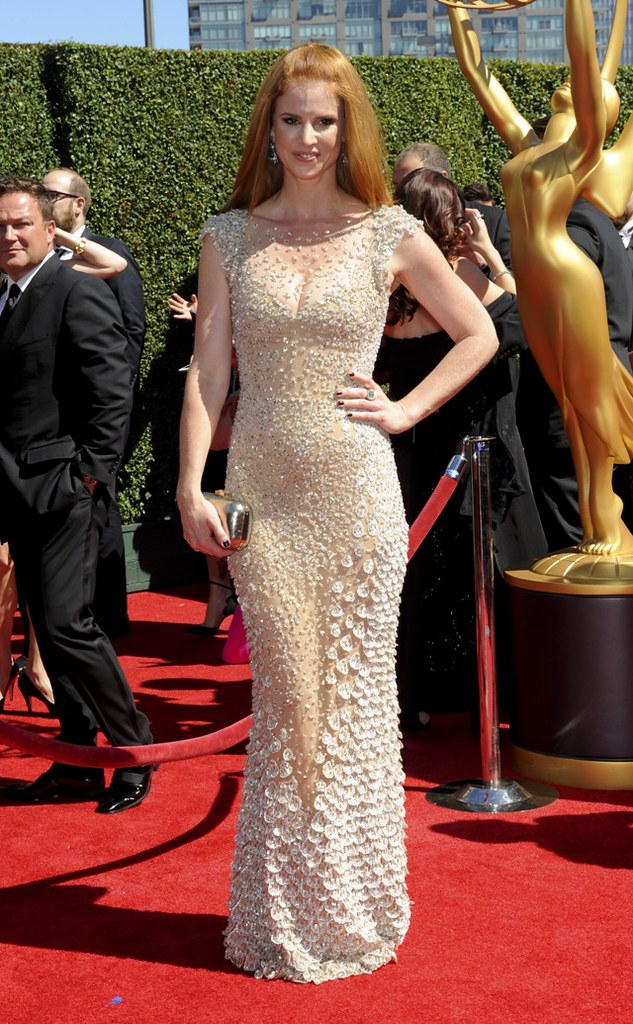 The Creative Arts Emmy 2014 arrivals..Featuring: Sarah Rafferty.Where: Los Angeles, California, United States.When: 17 Aug 2014.Credit: Apega/WENN.com