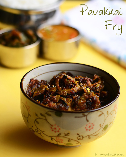 pavakkai-fry-recipe
