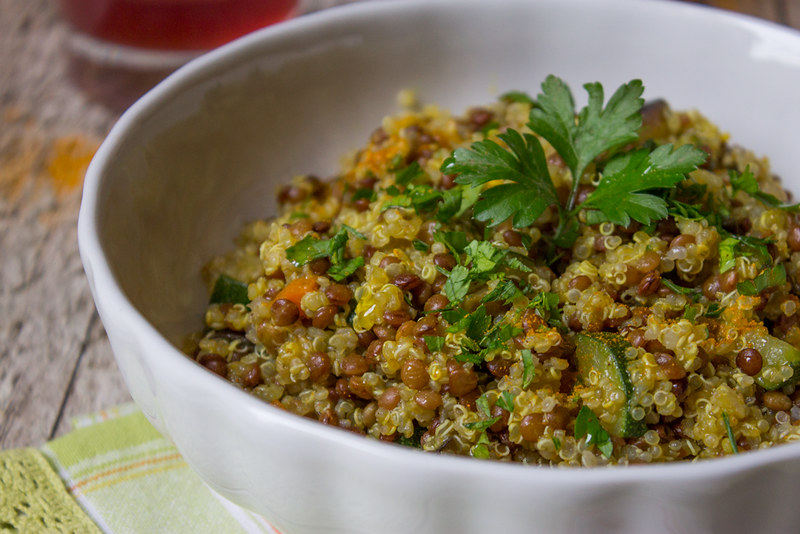 Quinoa e Lenticchie di Santo Stefano di Sessanio - dettaglio