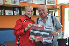 Trainer-Ikone Ulli Wegner unterstützt Volleyballerinnen des Köpenicker SC Berlin