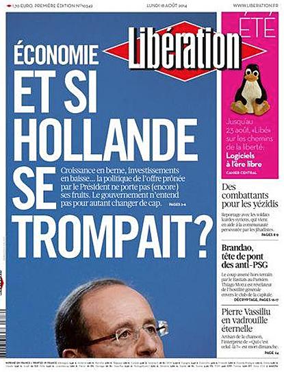 14h18 Liberation Y si Hollande se equivocase