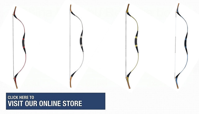 one piece traditional recurve bow