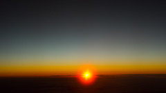 Sunset on high