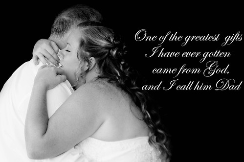 Christian thank you dad wedding poem