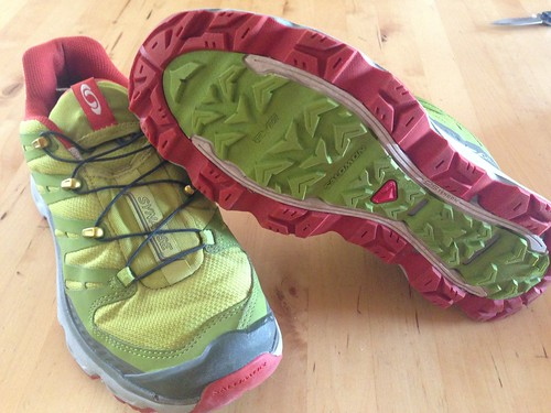 Running Shoes : Salomon Synapse by mikey and wendy
