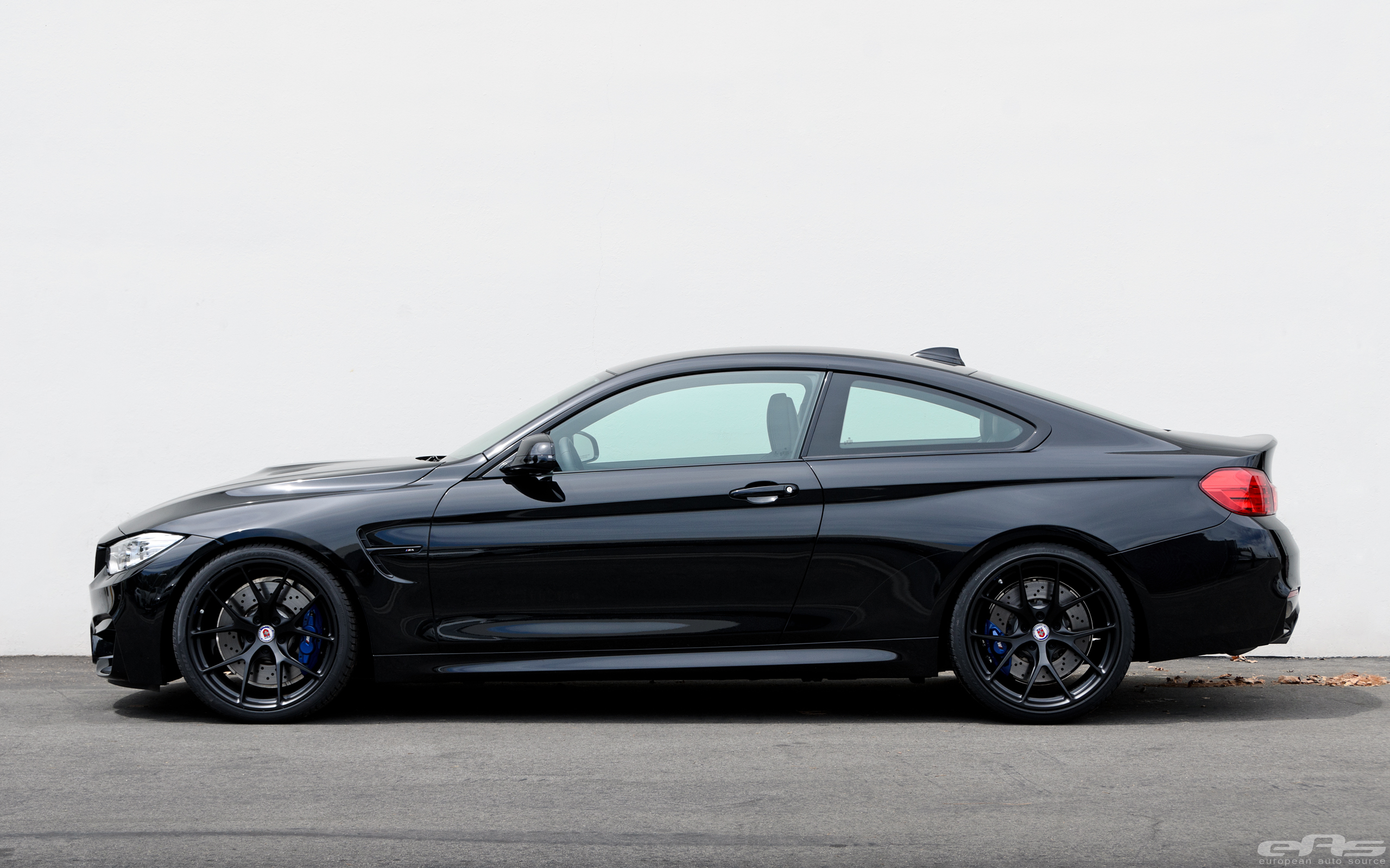 Matte Black Hre Wheels For A Black Sapphire M4 Bmw Performance