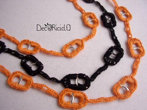 collana linguette arancionero 2