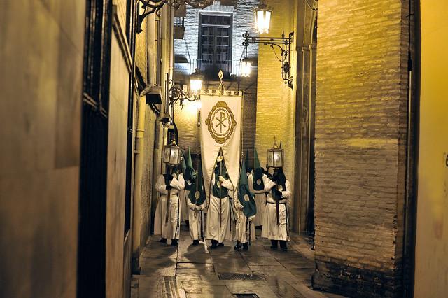 Semana Santa de Zaragoza. Siete Palabras. Viacrucis