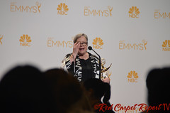 Kathy Bates, American Horror Story: Coven, in the 66th Emmy Awards Media Press Room DSC_0017