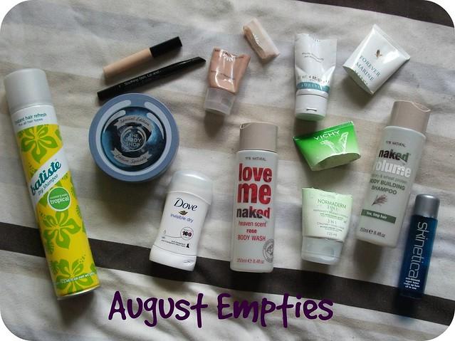 August Empties